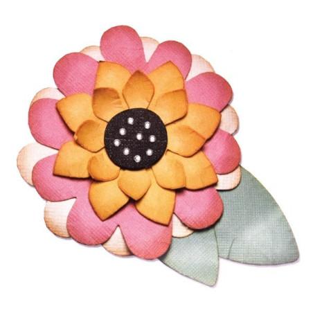 Fustella bigz sizzix motivi floreali