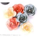 Fustella sizzix fiore grande rosa 3D