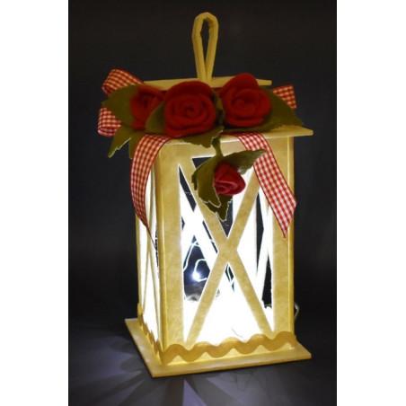 Fustella artigianale lanterna a4