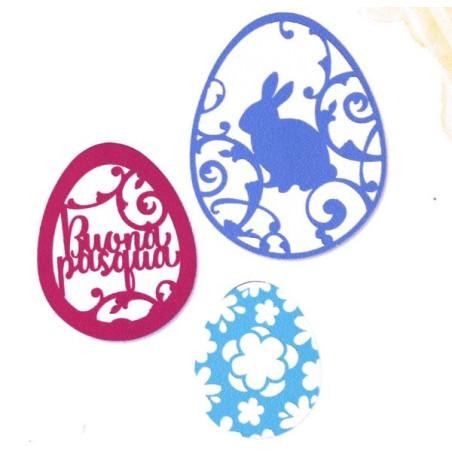 Fustella artigianale per big shot uovo di pasqua