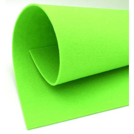 Feltro 3 mm verde acceso