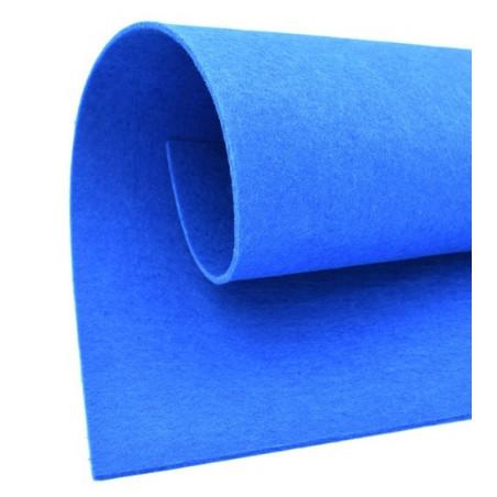 Feltro 3 mm colore blu