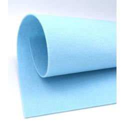 Feltro 3 mm colore azzurro baby