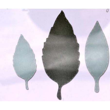 Fustella bigz sizzix tre foglie