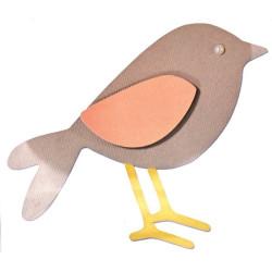 Fustella bigz sizzix uccellino