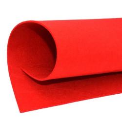 Feltro 3 mm colore rosso