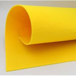Feltro 3 mm colore giallo