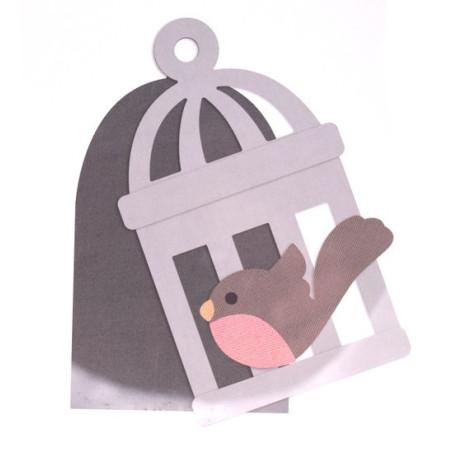 Fustella bigz L gabbietta per uccellini