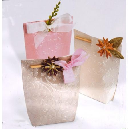 Fustella bigz sizzix scatoletta regalo floreale
