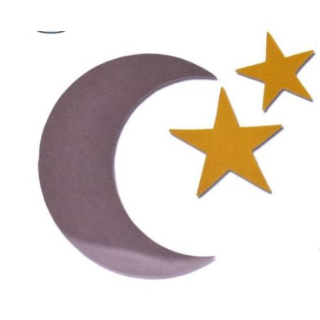 Fustella bigz stelle più luna