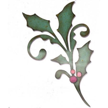 Fustella bigz ramo festivo Tim Holz