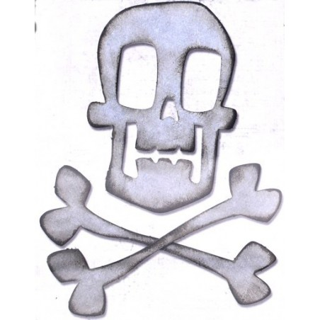 Fustella bigz teschio e ossa incrociate