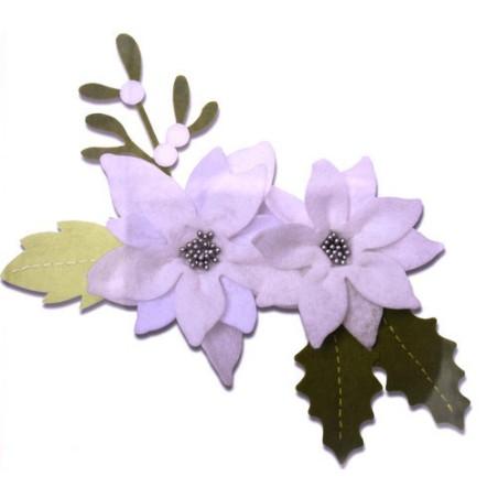 Fustella bigz plus a4 fiore di natale