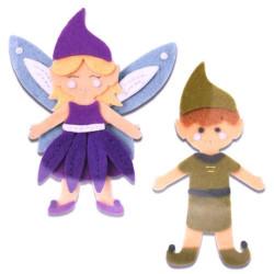 Fustella bigz L elfo e fata