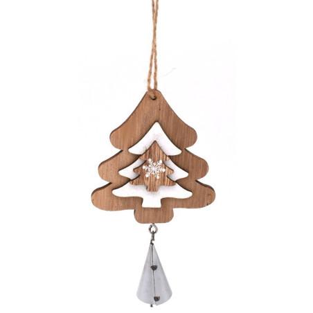 Alberello natalizio in legno