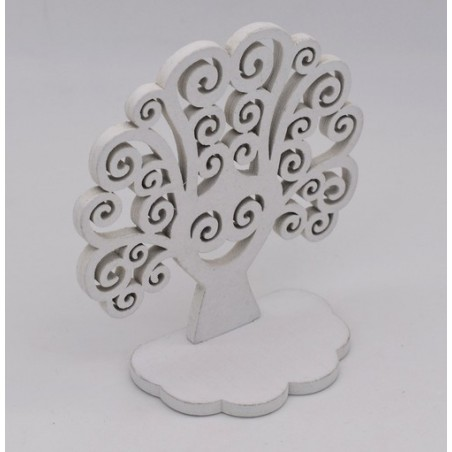 Decorazione natalizia albero della vita color bianco