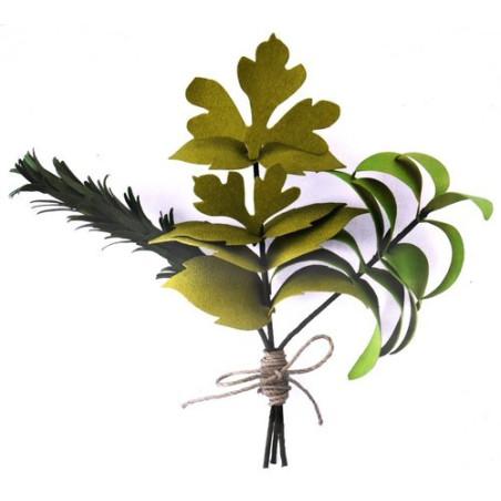 Fustella bigz sizzix erbe aromatiche