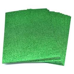 Gomma crepla glitter color verde