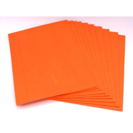 Gomma crepla eva 10 pezzi colore arancione