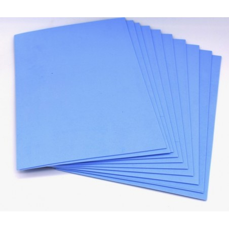 Gomma crepla eva colore azzurro