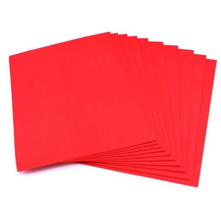 Gomma crepla eva colore rosso