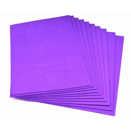 Gomma crepla eva colore viola