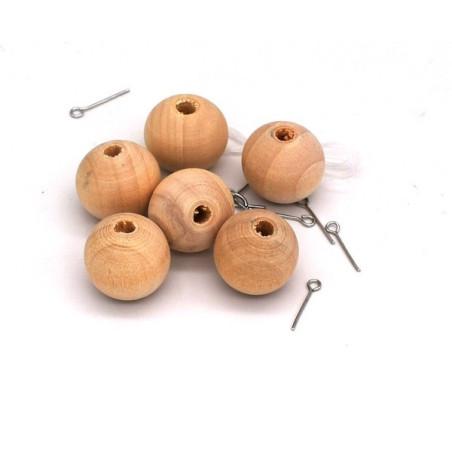 Perle legno 20 mm