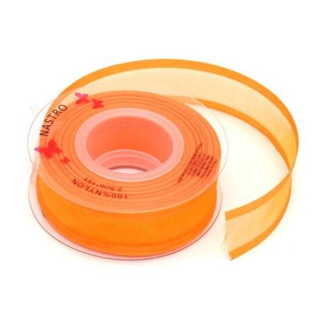Nastro nylon colore arancio