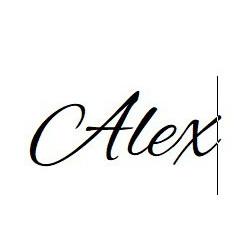 Nomi personalizzati Alex