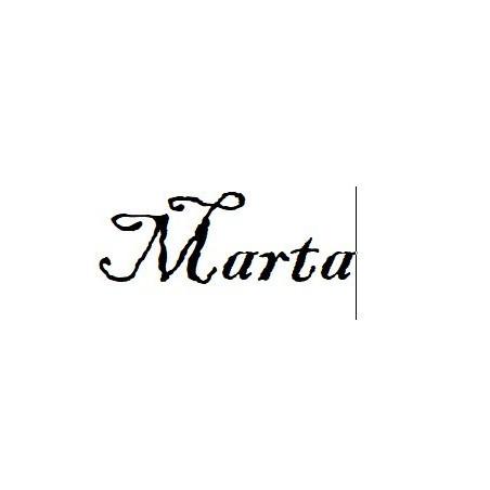 Nomi personalizzati Marta