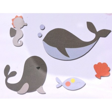 Fustella bigz amici dell'oceano