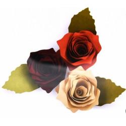 Fustella bigz sizzix rosa 3d
