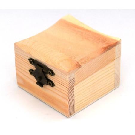 Scatola bauletto legno 5,8 x 5,8 x 4,5 cm