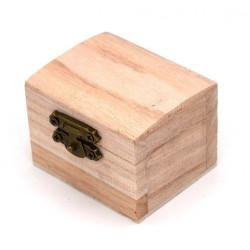 Scatola legno bauletto per...