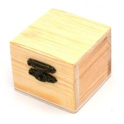 Scatola bauletto legno con...