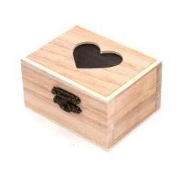 Scatola legno bauletto con...