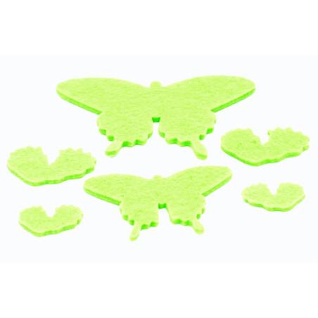 Farfalle in feltro