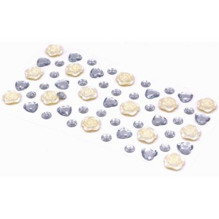 Brillantini adesivi stickers 12 mm
