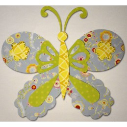 Farfalla in feltro da...