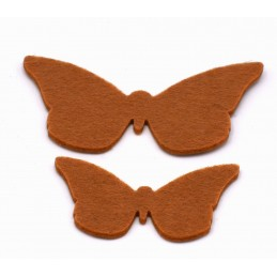 Set due Farfalle 10x6 cm e...