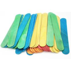 Bastoncini colorati in legno