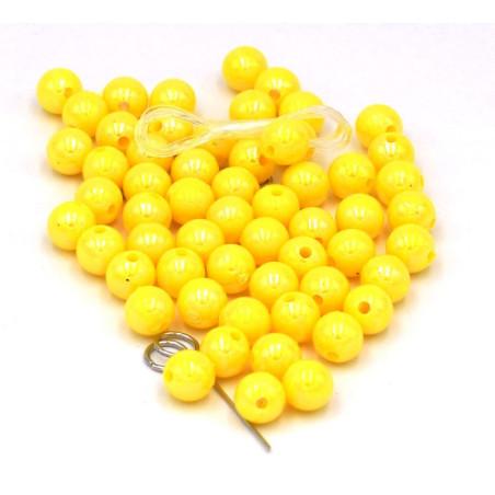 Perline colore giallo fai da te