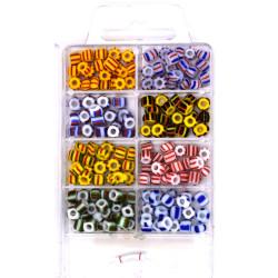 Set perline multicolor