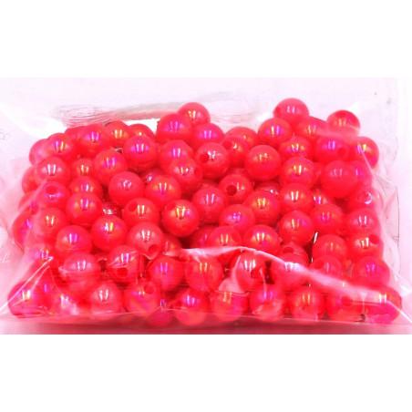 Perline di plastica colore fuxia