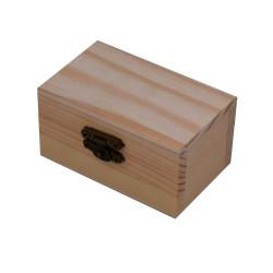 Scatola in legno naturale...