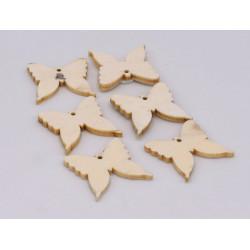 Farfalle in legno per le...