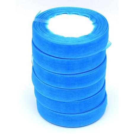 Nastro di organza colore azzurro