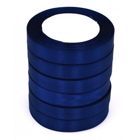 Nastro di raso colore blu scuro 22,50 metri