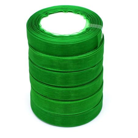 Nastro organza colore verde 22.50 metri