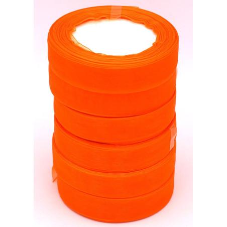 Nastro di organza colore arancione
